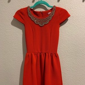 Red extra small dress from Francesca's